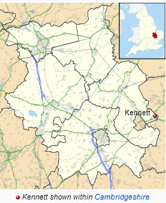 Location of Kennett