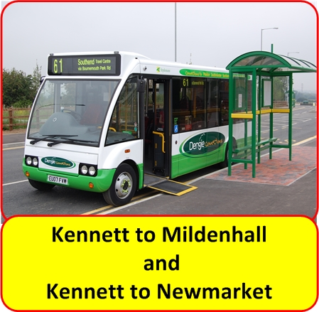 Newmarket to Mildenhall Bus