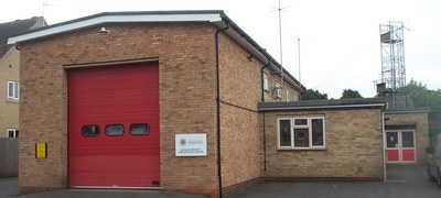 Soham fire station